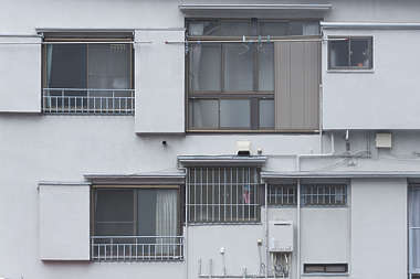 window house facade building china