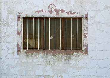 window industrial barred plaster