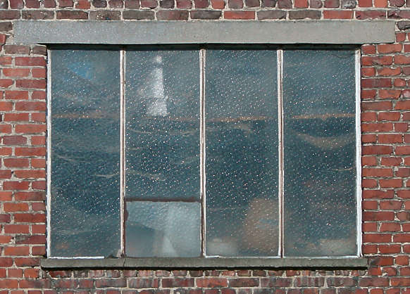 window industrial old