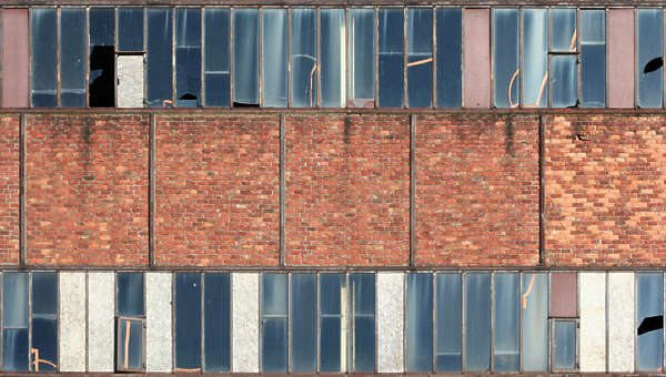 window industrial brick small