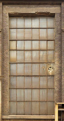 window industrial old dirty