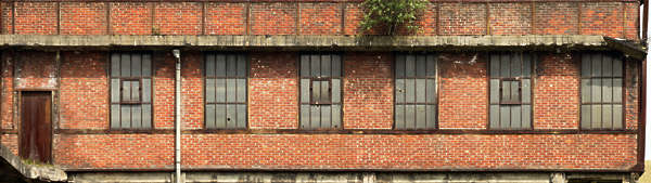 windows industrial window facade building