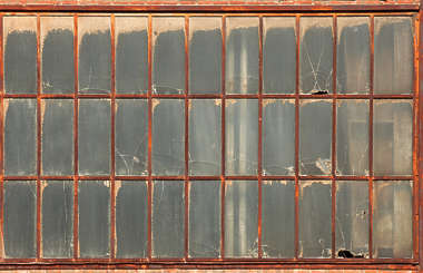 window windows industrial broken rust
