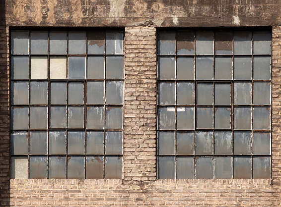 window windows industrial dirty old