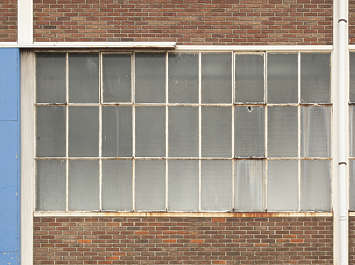window industrial metal