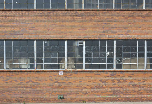 window industrial blocks new york ny united states usa