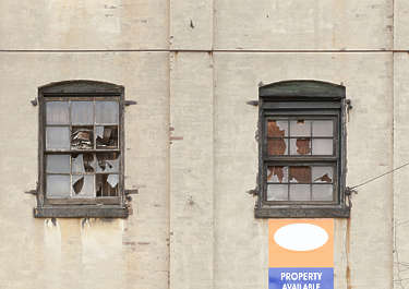 window industrial old new york ny united states usa