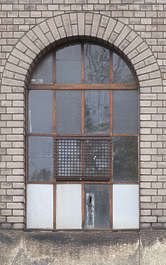 window metal industrial arch
