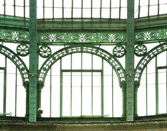window ornate greenhouse old victorian