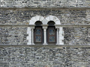 window medieval old arch