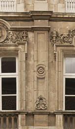 window ornate ornament arch