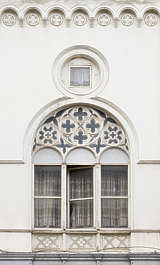 window ornate arch
