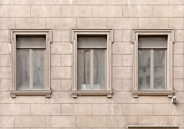 new york ny building facade window windows ornate old