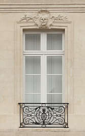 building historical window france ornate