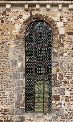 window church ornament old medieval