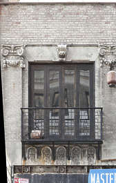 window house old ornate new york ny united states usa