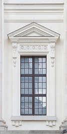 window ornate neoclassical