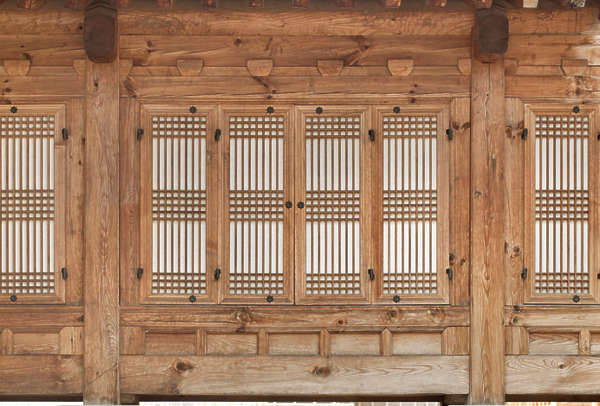 Gray Stained Shutters