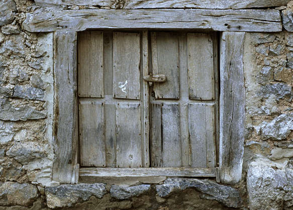 window shutters shutter wood house old medieval