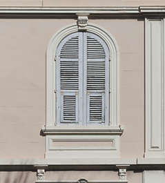 window shutter shutters wood arch ornate