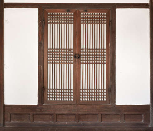south korea wood plaster tudor