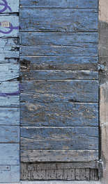 wood planks painted old weathered worn