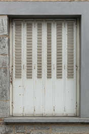 window metal shutters