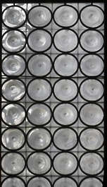venice italy window glass medieval leaded old church round