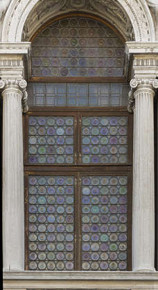 venice italy window medieval old round glass