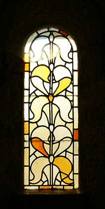 window lead glass stained