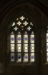 window windows ornate stained glass church