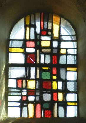 window church glass leaded old