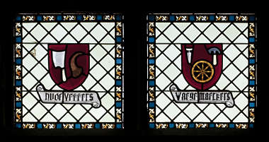 window stained glass leaded church windows double