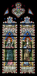 window stained glass leaded church windows tall