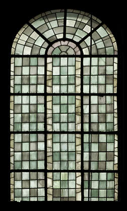 window stained glass leaded church windows