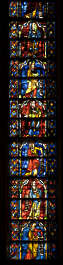 window stained glass leaded church windows tall narrow