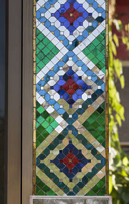 thailand bangkok asia asian window stained glass leaded