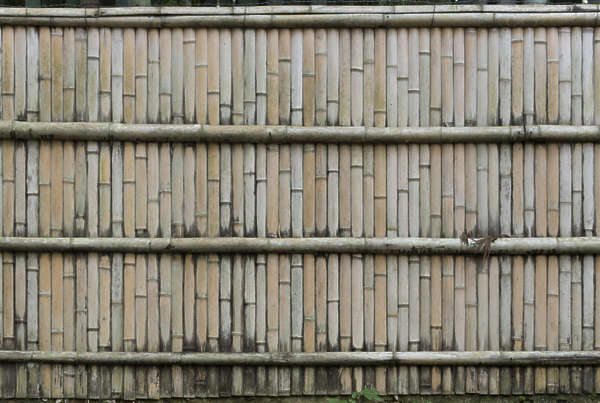 bamboo fence barrier wall china