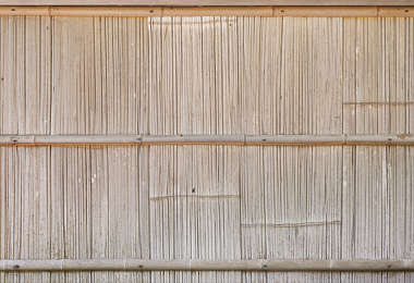 bamboo fence barrier wood japan
