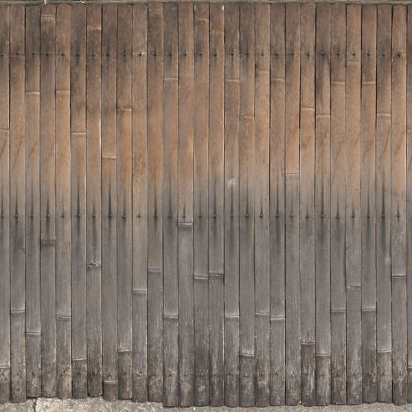 Concrete And Metal Fence
