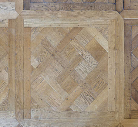 wood floor parquetry ornate oak
