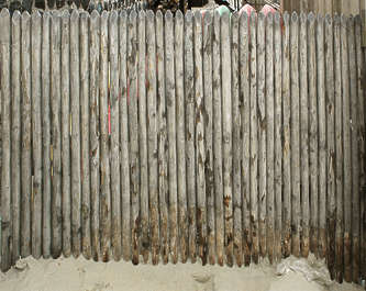 wood sticks poles fence fencing pole stick