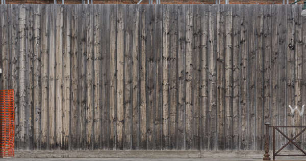 venice italy wood fence planks