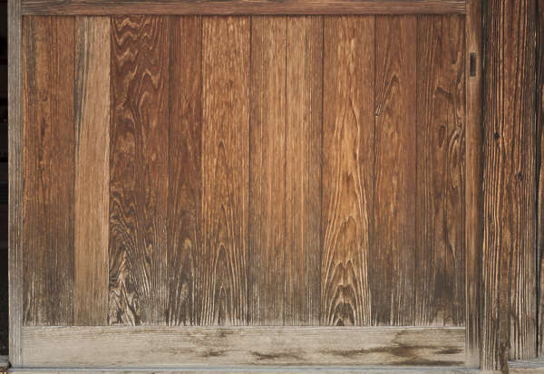 wood planks old bare japan
