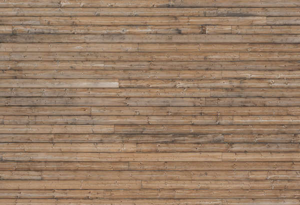 wood planks facade bare clean