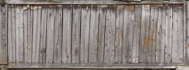 wood planks old fence bare weathered