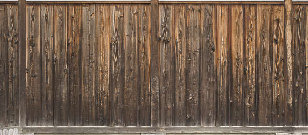 japan wood planks fence siding old bare