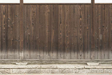 japan wood planks old siding bare