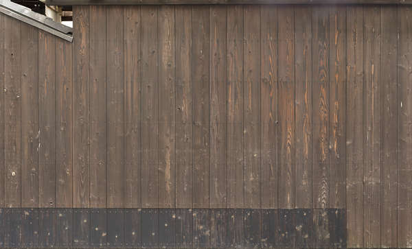 japan wood planks siding old bare