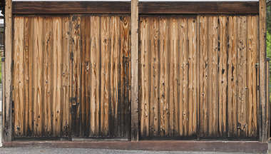 japan wood old bare planks siding